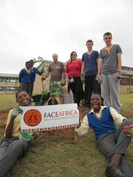 Tree Planting Programmes are an important part of most visits