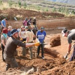Dam irrigation project for community market garden